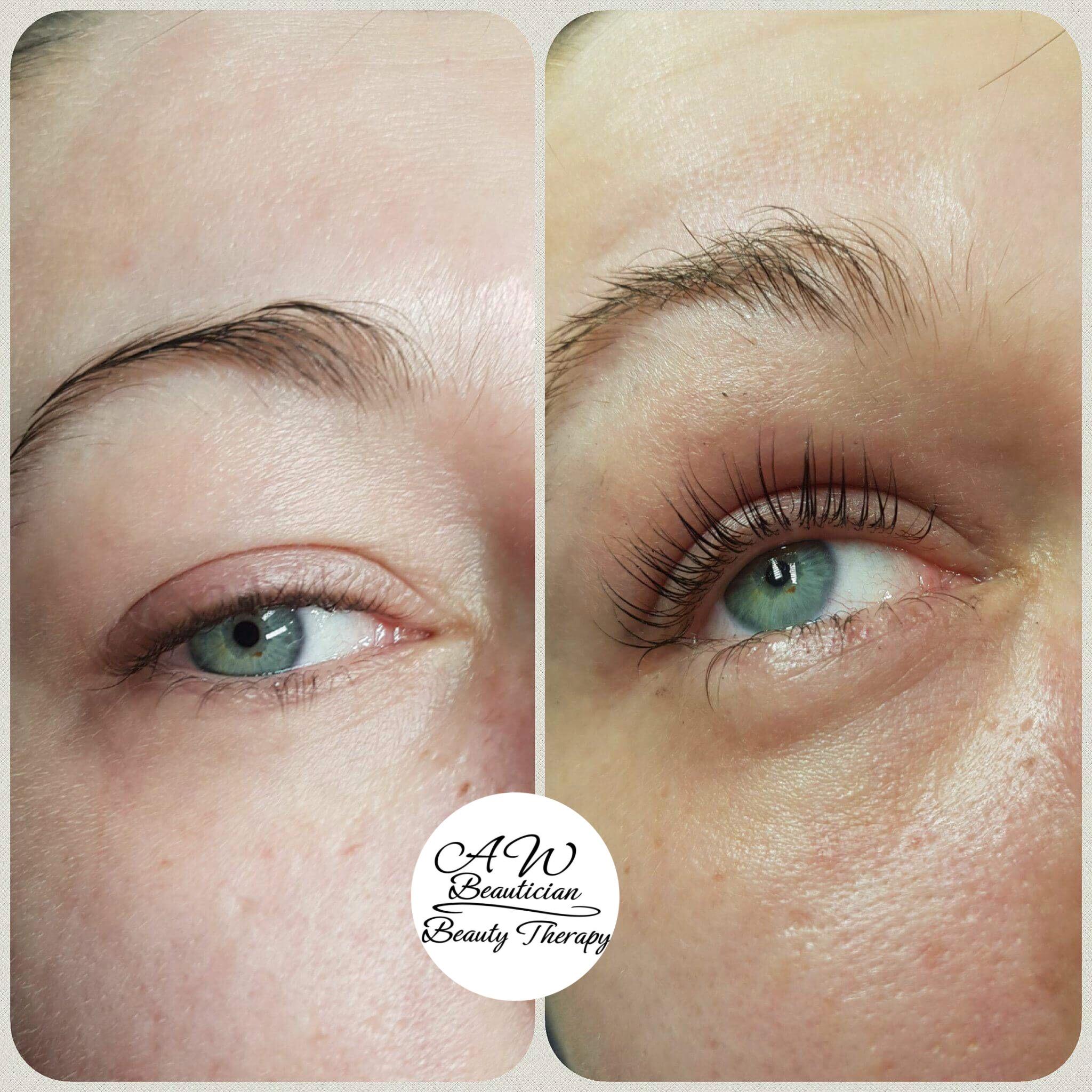 Lift Eyelashes Aw Beautician Edinburgh Beauty Salon Invites You